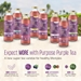 Unsweetened Blood Orange Purple Tea, 16 oz (3 Pack) - 856435007080_3Pack